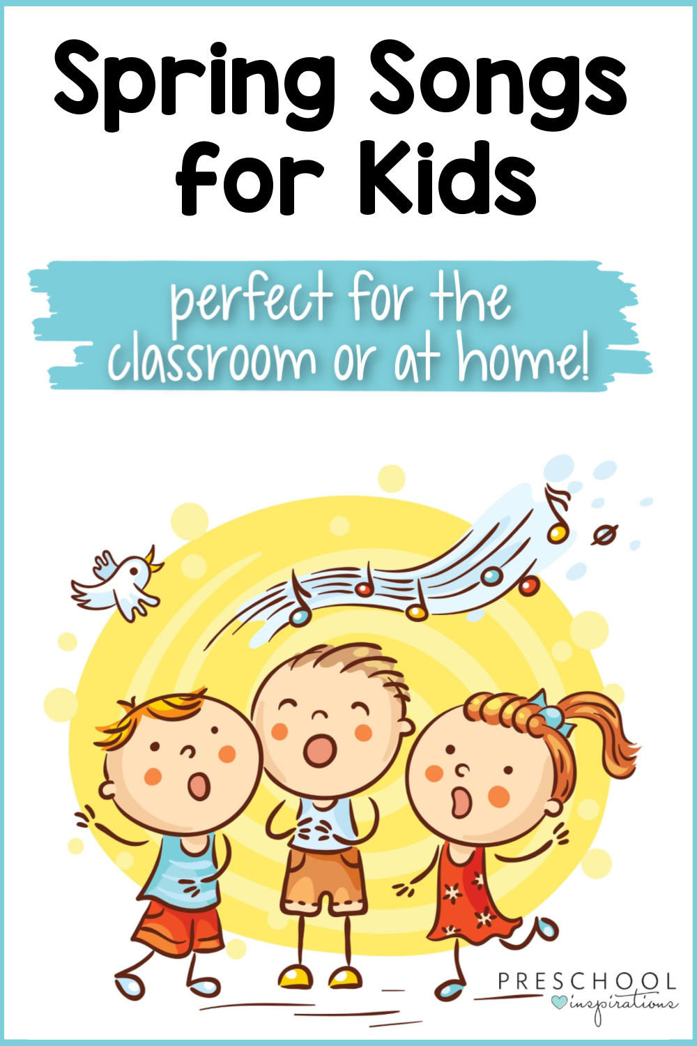 Great songs for kids with a springtime theme! Dance songs, fingerplays, chants and more that are all about rainbows, butterflies, and all things spring! You kids will love them, both at school and at home.