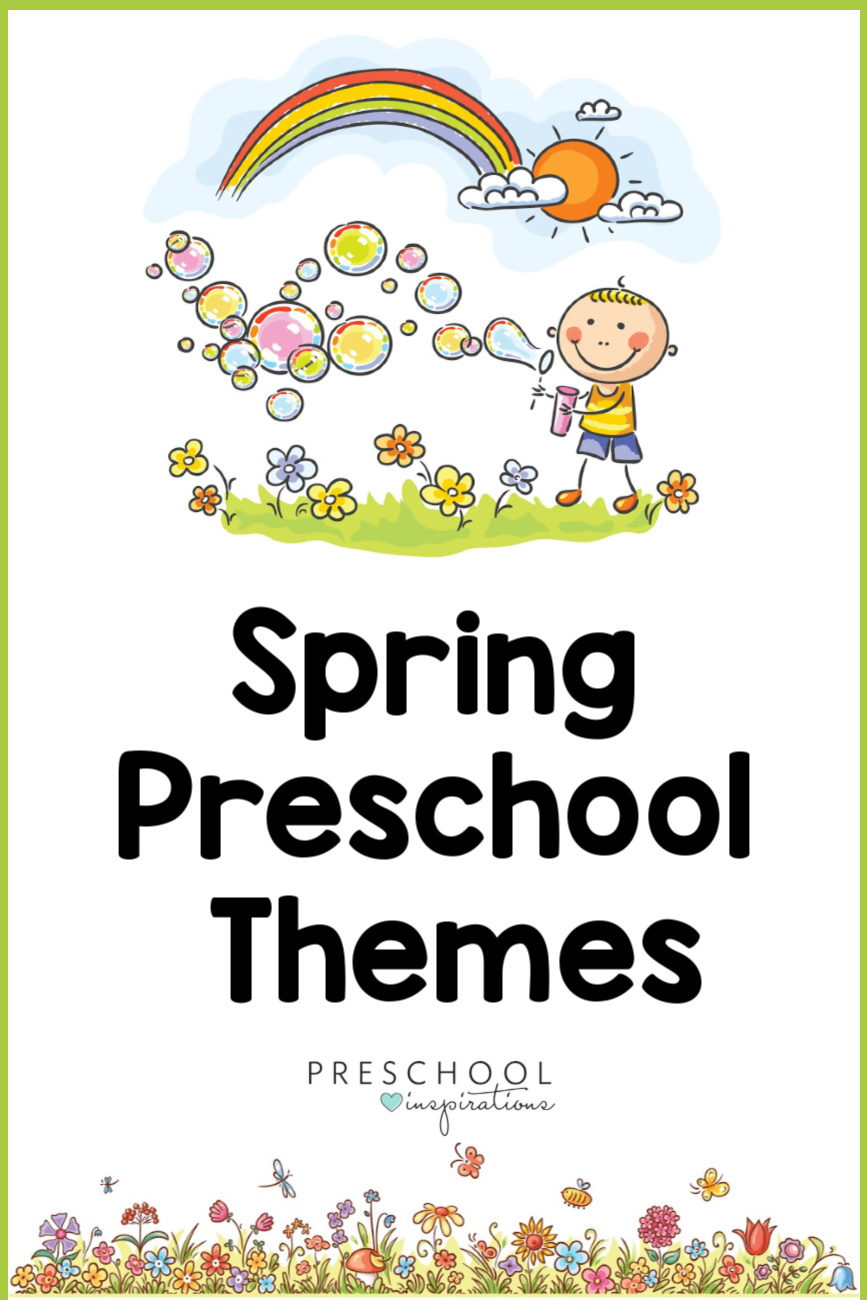 Teaching preschool can be a breeze this Spring when you use our spring preschool themes! Here's lesson plans, activities, books, crafts, and more to use this Spring. Find popular themes like flowers, trees, and butterflies, as well as some others you may not have thought of!