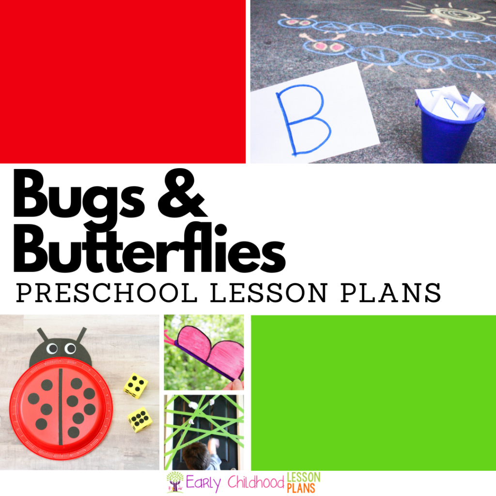 cover image for Preschool Lesson Plans Bugs and Butterflies