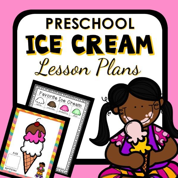 cover image for Preschool Ice Cream Lesson Plans