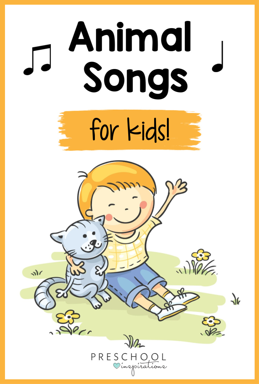 Animal songs are as fun as they are educational. Kids will love singing about their pets, farm animals, ocean animals, and more!