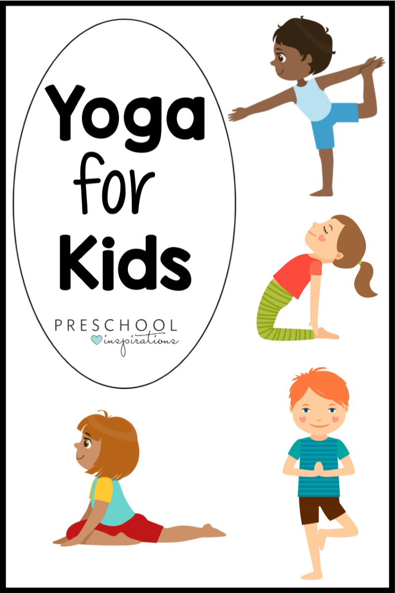 Looking for some great resources for yoga for kids? Look no further! We've rounded up the best poses, videos, books, songs, and more! Everything you need for mindfulness and yoga for kids.
