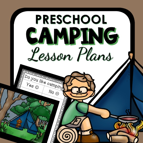 cover image for Preschool Camping Lesson Plans