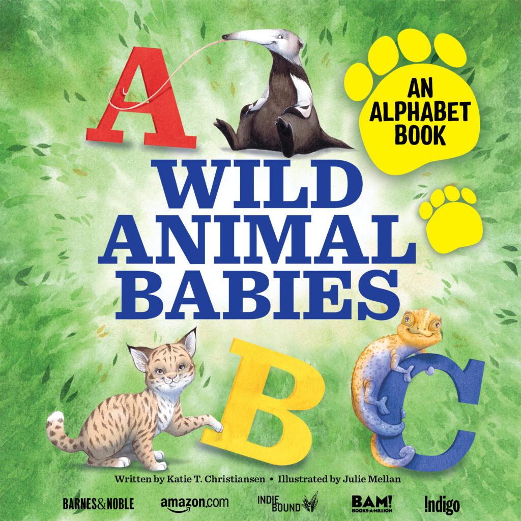 Book cover of Wild Animal babies
