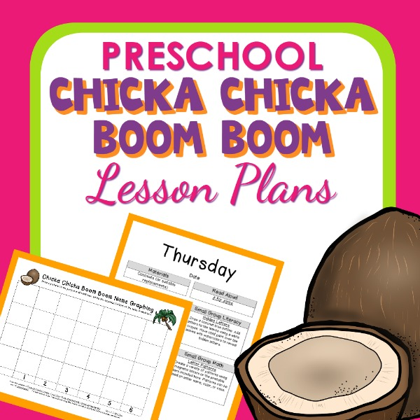 cover image for chicka chicka boom boom lesson plans