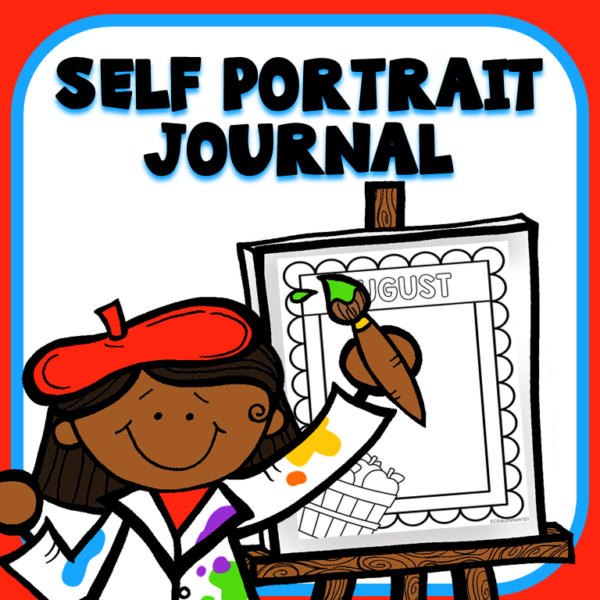 cover image for self portrait journal