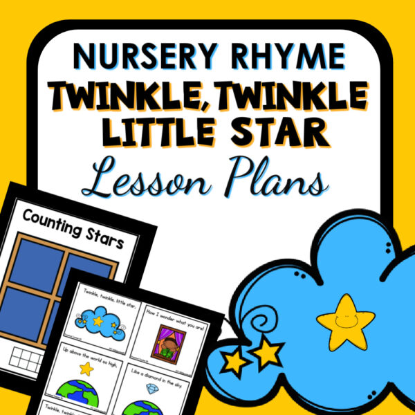 cover image for Twinkle twinkle little star lesson plans