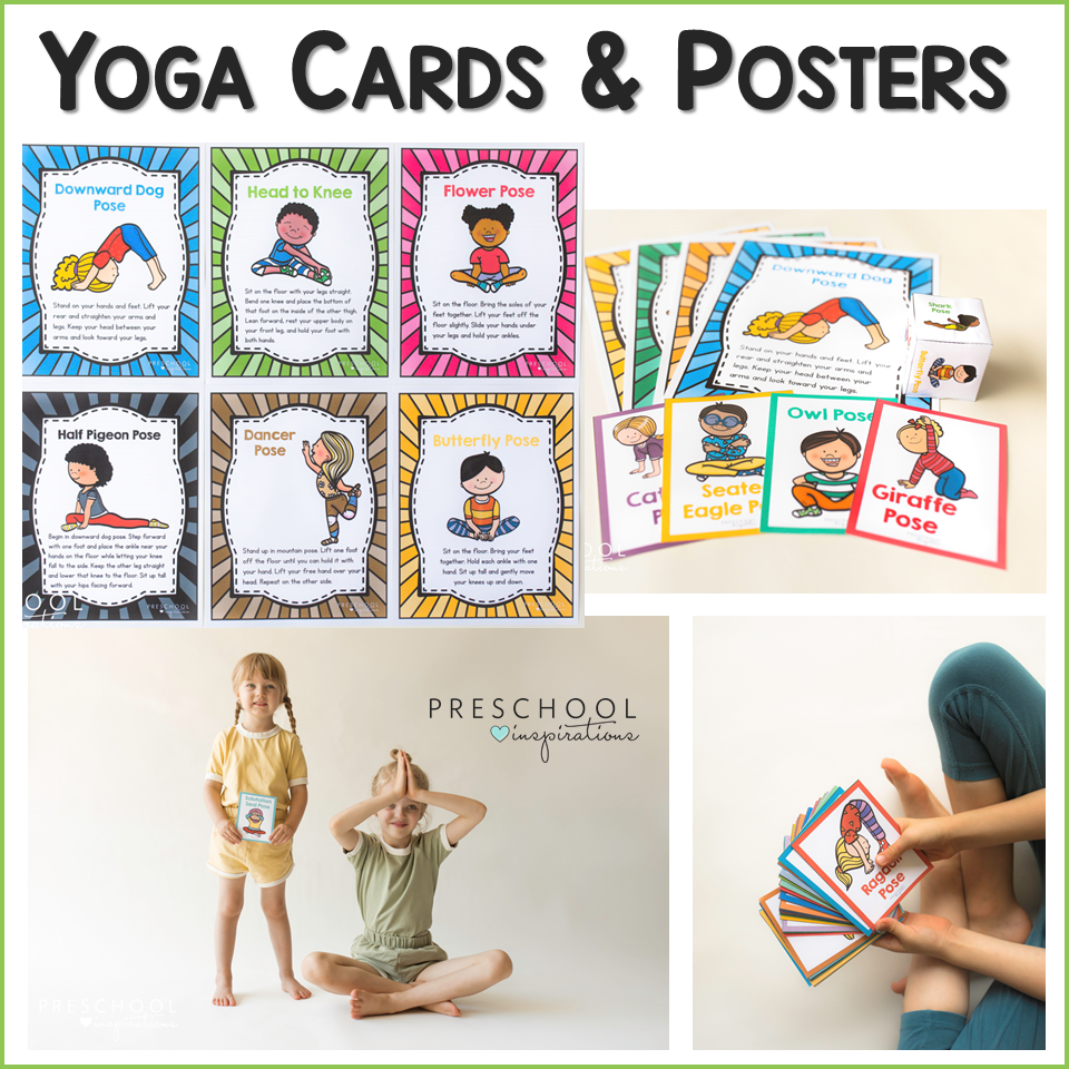 cover image for yoga cards and posters
