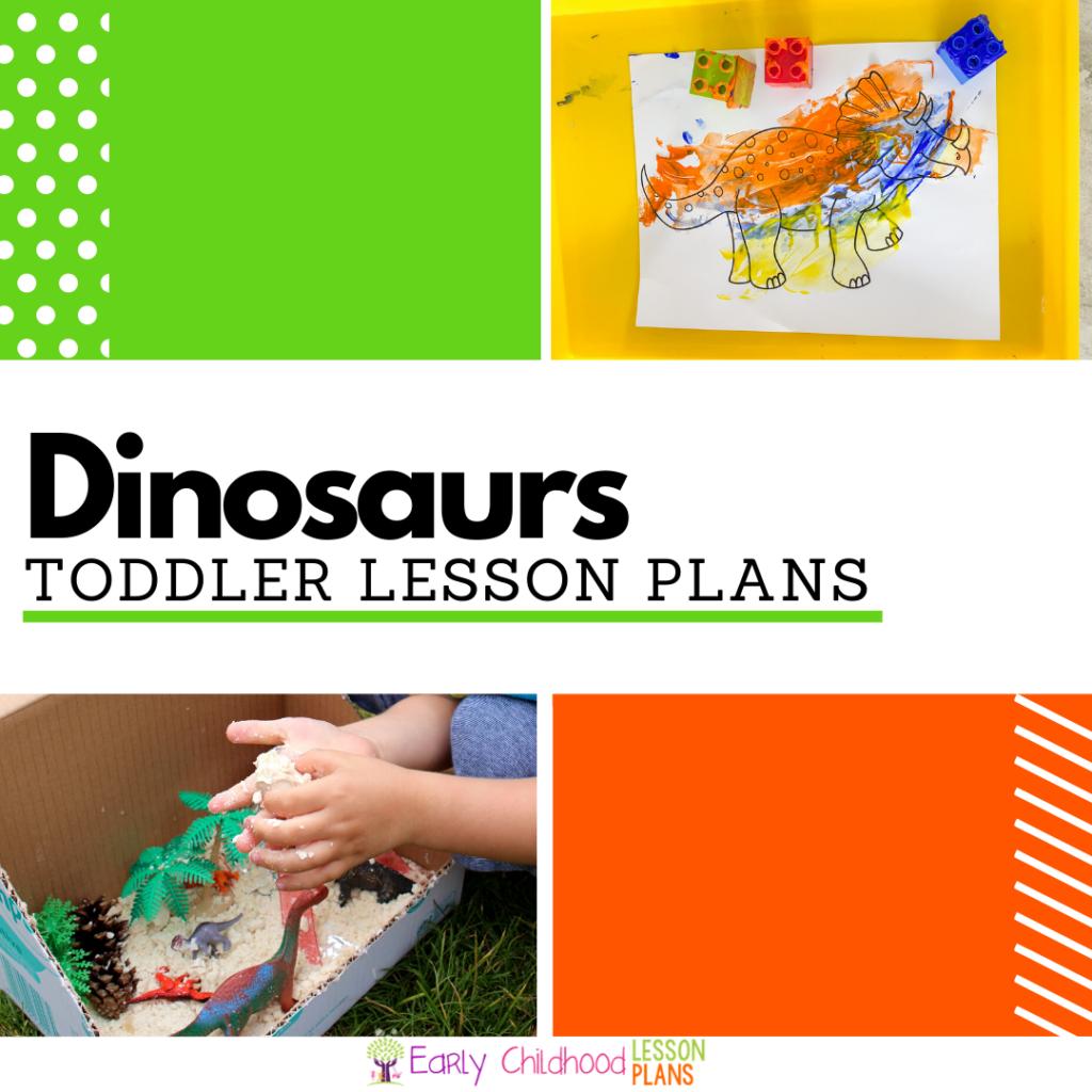 cover image for toddler dinosaur lesson plans