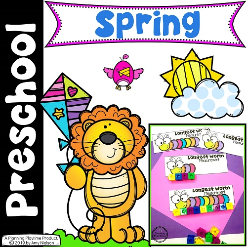 cover image for spring printables