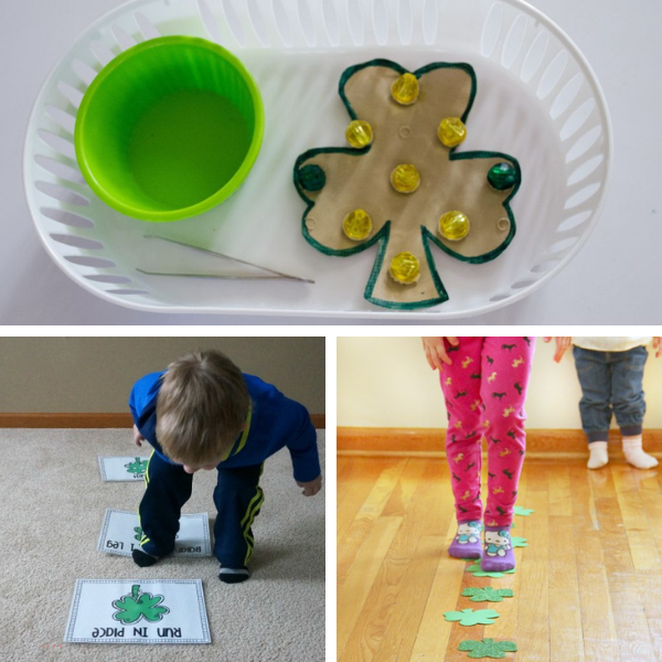 motor skills activities for st. patrick's day