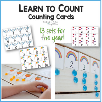cover image for set of counting cards