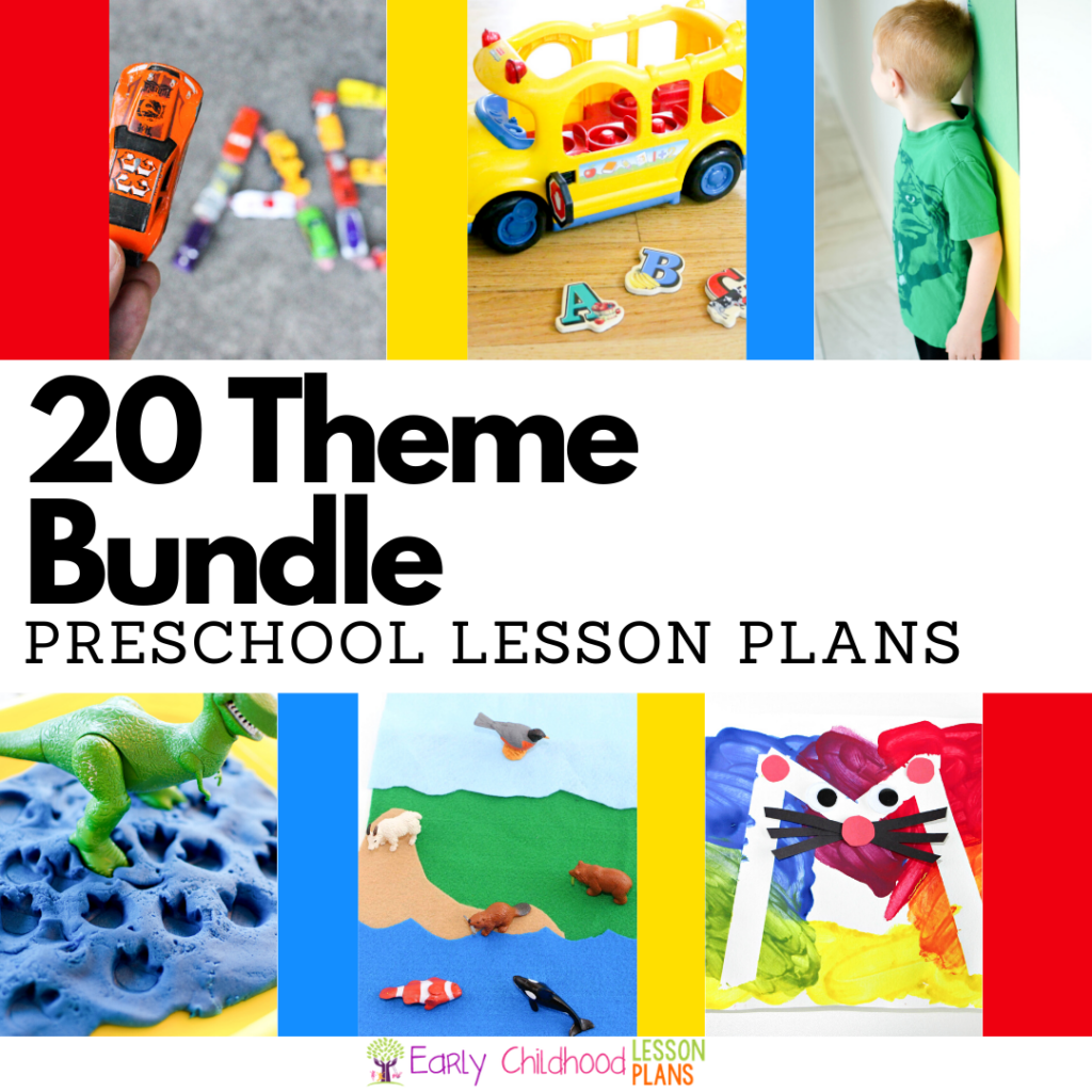 cover image for 20 theme bundle for preschool