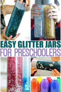 Calming Glitter Jars for Mindfulness and Relaxation